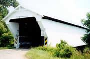 Geeting Covered Bridge T.R. 436 3 miles West of Lewisburg Ohio